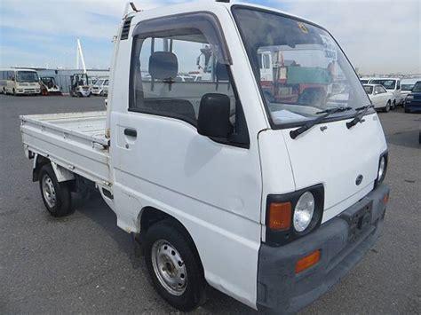 subaru sambar truck 1991 subaru sambar truck ks4 truck 4wd std for sale