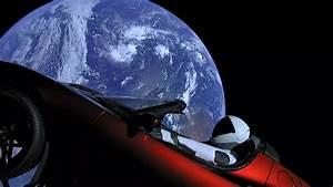 Tesla Dans Lespace : un tesla roadster dans l 39 espace ~ Nature-et-papiers.com Idées de Décoration