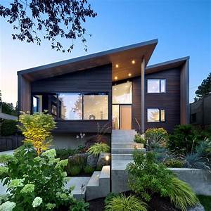 An, Ordinary, Suburban, Home, In, Vancouver, Is, Given, A, Modern, Edge