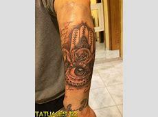 Tatuaje De La Mano De Fatima Con Tattoo Art