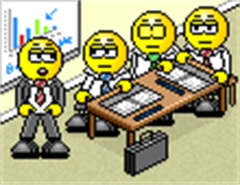 smiley au bureau smilchat smiley animé 3d petit gros large