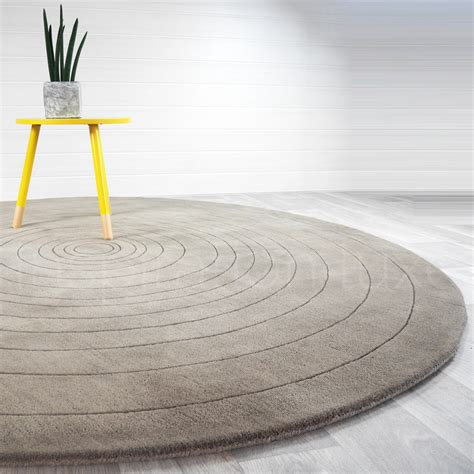 grand tapis rond idees de decoration interieure french