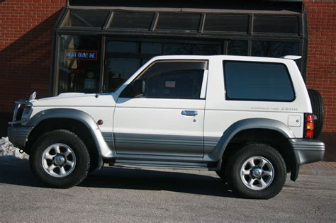 Due to the name pajero roughly translating to wanker in spanish. 1994 Mitsubishi Pajero for Sale - RightDrive - Est 2007