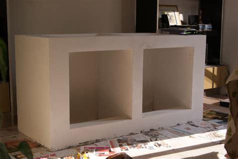 cuisine cellulaire fabrication d 39 un meuble en béton cellulaire pour bac polyfon
