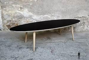 Table Basse Made Com : table basse ovale meuble style vintage made in france ~ Melissatoandfro.com Idées de Décoration