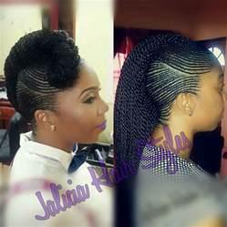 Ghana Cornrow Braids Hairstyles