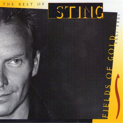 sting fields of gold best of review of sting fields of gold audiophileparadise