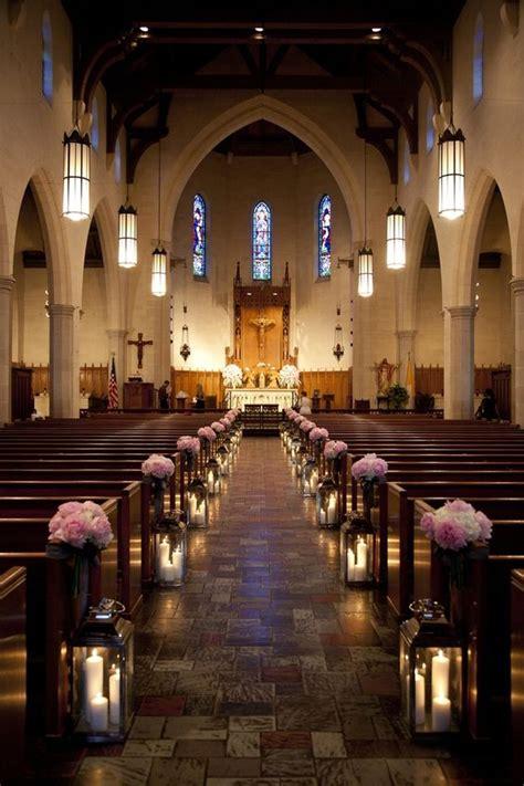 stunning church wedding aisle decoration ideas  steal