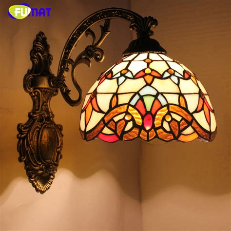stained glass wall light fixtures fumat stained glass wall ls baroque light fixtures wall