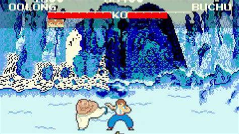 Gamis Spanduk Kutung retro yie ar kung fu konami arcade