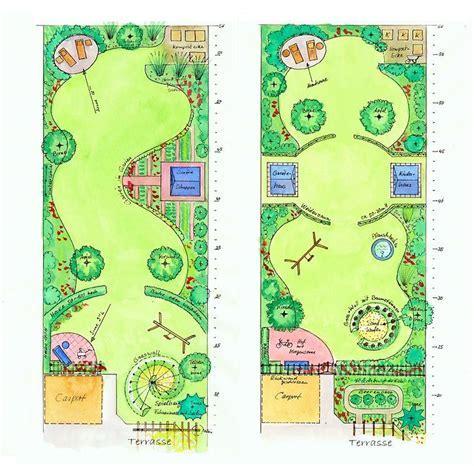 Schmale Gärten Gestalten by Entw 252 Rfe F 252 R Einen Familiengarten Mit Spielbereich