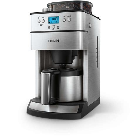 kaffeemaschine philips grind brew kaffeemaschine hd7753 00 philips