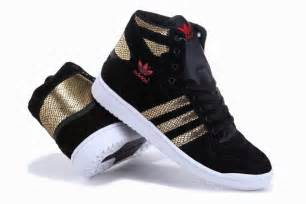 Adidas Shoes High Top Black Women