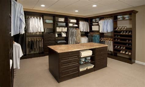 Bedroom Wardrobe Custom by Custom Closet With Island Interior Designs