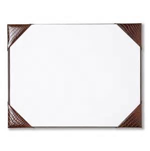 leather desk blotter pad waucust415b wood arts universe