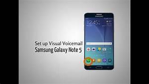 Set Up Visual Voicemail Samsung Galaxy Note 5