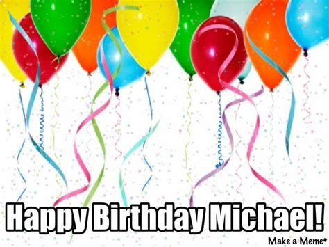 Happy Birthday Mike Images Happy Birthday Michael Clipart Clipground