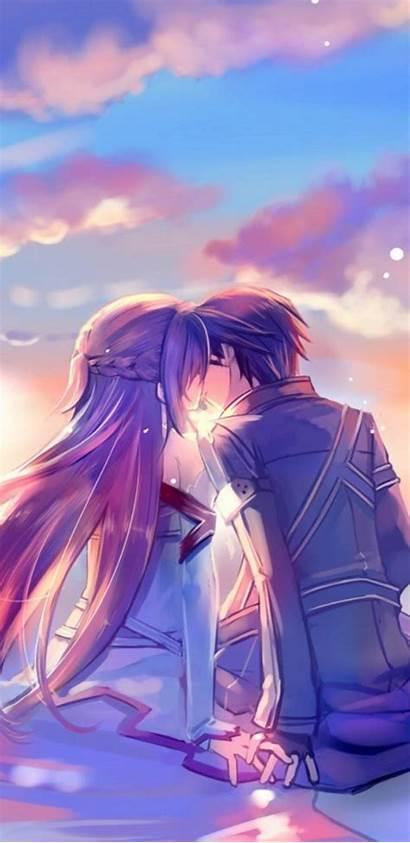 Wallpapers Anime Boyfriend Girlfriend Animekiss
