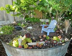 Kleiner Baum Garten : deko bastelideen reizvollen mini garten kreieren ~ Lizthompson.info Haus und Dekorationen