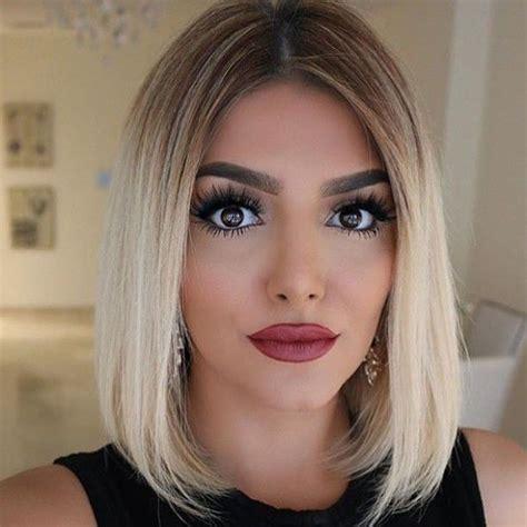 Ombré Hair Blond Polaire Ombr 233 Hair Blond Polaire Cheveux Court