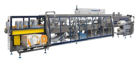 wrap  case packing machines automatic shrink film wrapping machines tc series prasmatic