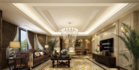 Elegant Luxury European-style Living Room Design