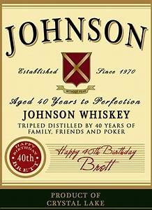 personalized whiskey label findgiftcom With jameson whiskey label template