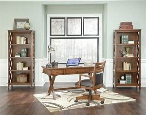 Burkesville home office desk h565 45 ashley furniture for Ashley furniture home office collection