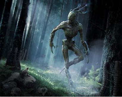 Creature Creepy Menk Fantasy Sci Fi Deviantart