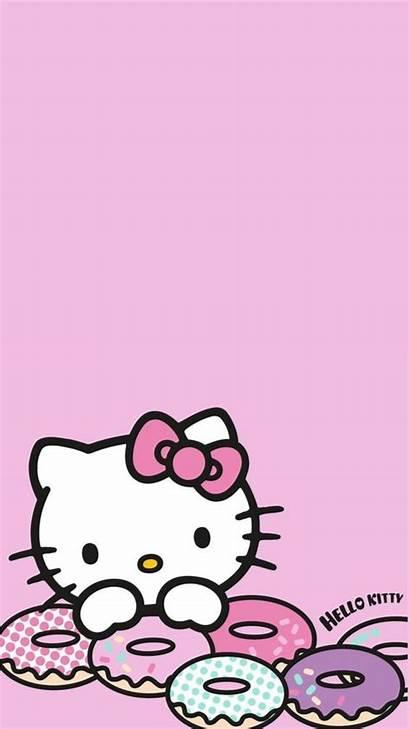 Kitty Hello Sanrio Kawaii Wallpapers Iphone Backgrounds