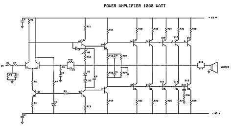 Watt Power Amplifier