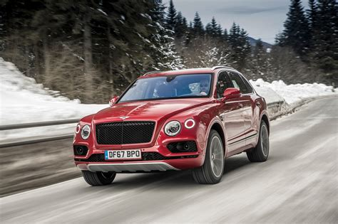 2019 Bentley Bentayga V-8 First Drive