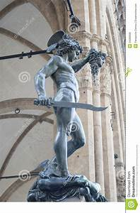 Perseus slaying medusa stock photo. Image of frontal ...