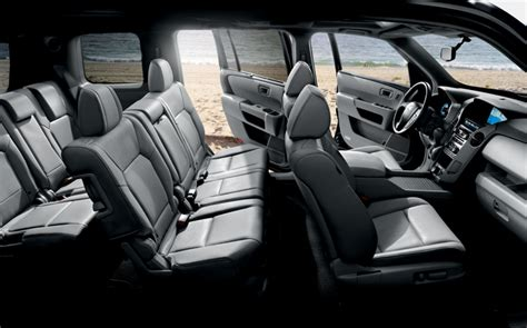 Ford Explorer Captains Chairs 2nd Row by New Honda Pilot In Houston New Honda Suv Photos