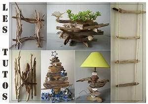 Objet Bambou Faire Soi Meme : fabriquer deco bois flotte visuel 7 ~ Melissatoandfro.com Idées de Décoration