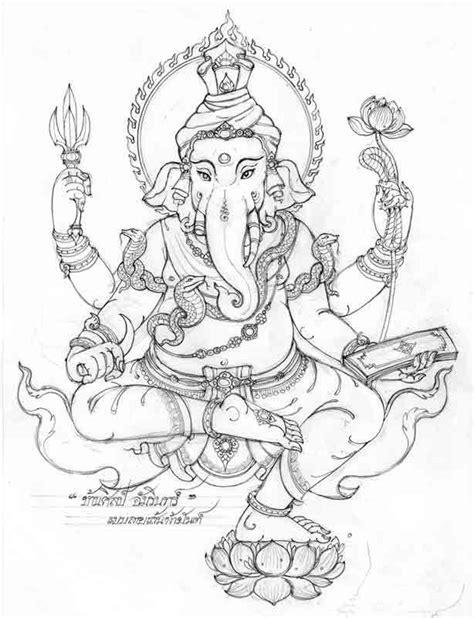 Related image | BUDDHIST COLORING BOOKS ในปี 2019 | Hindu art Ganesha tattoo และ Ganesha painting