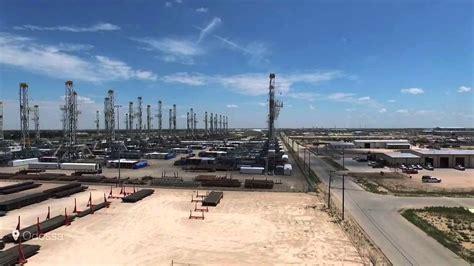 odessa texas stacked drilling rigs dji phantom  youtube