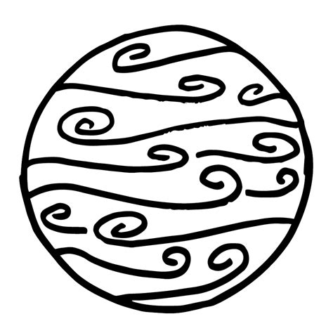 solar system clipart black and white neptune free solar system clipart