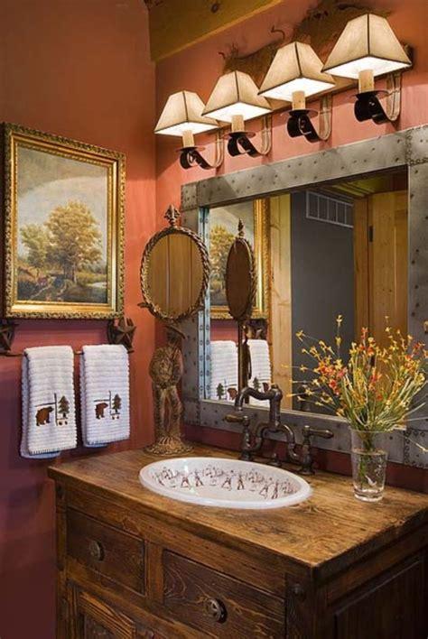 awesome country mirror bathroom decor ideas bathroom design rustic cabin bathroom cabin