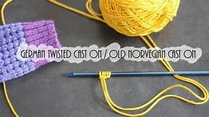 Tricot  Montage Tr U00e8s  U00e9lastique    U0026quot German Twisted Cast On