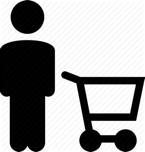 You can copy, use and distribute this icon, even for commercial purposes, all without asking permission provided you link to icons8.com website from any page you use this icon. Buy, cart, consumer, e-commerce, person, shopper, shopping ...