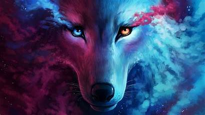 Galaxy Wolf Resolution Wallpapers 4k Backgrounds
