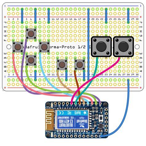 circuit diagram diy bluetooth gamepad adafruit