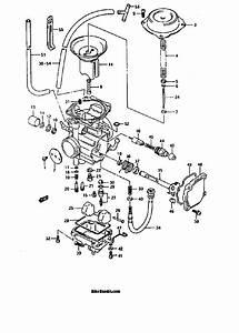 30 Suzuki Quadrunner 250 Carburetor Diagram