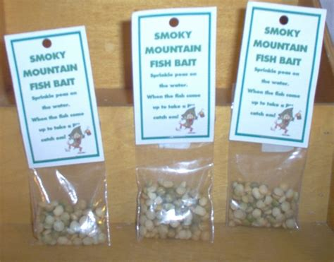 smoky mountain hillbilly fish bait gag gift   village