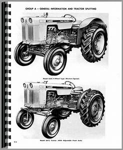 Case 630 Tractor Service Manual