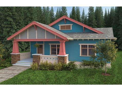 Eplans Craftsman House Plan  Bungalow Craftsman Single