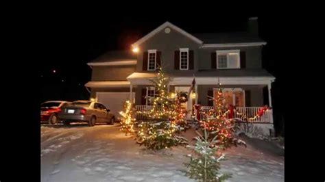 Déco Maison Noel Exterieur  Exemples D'aménagements