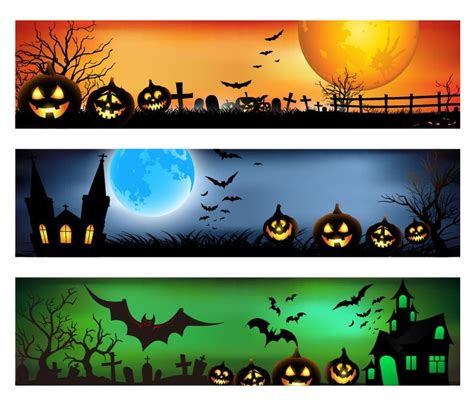 The best selection of royalty free halloween banner vector art, graphics and stock illustrations. Vector Banner for Halloween | Free Vector Graphics | All ...