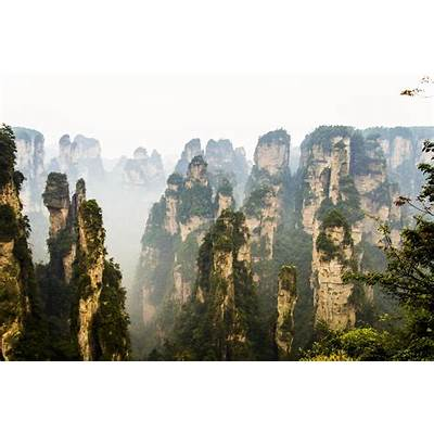 Zhangjiajie National Forest Park (China) Wallpapers Images